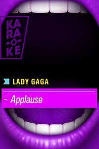 Karaoke - Lady Gaga - Applause