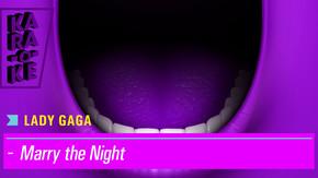 Karaoke - Lady GaGa - Marry the Night