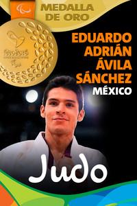 Rio 2016: Eduardo Adrián Ávila Sánchez (México) Oro en Judo