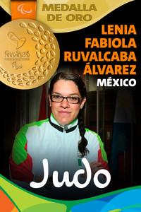 Rio 2016: Lenia Fabiola Ruvalcaba Álvarez (México) Oro en Judo