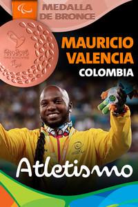 Rio 2016: Mauricio Valencia (Colombia) Bronce en Atletismo