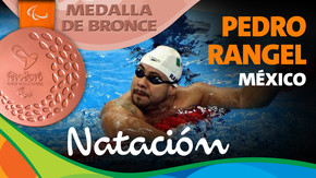 Rio 2016: Pedro Rangel (México) Bronce en Natación