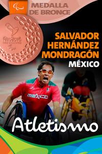 Rio 2016: Salvador Hernández Mondragón (México) Bronce en Atletismo